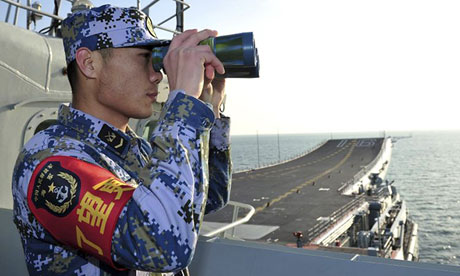 China's Liaoning aircraft carrier!